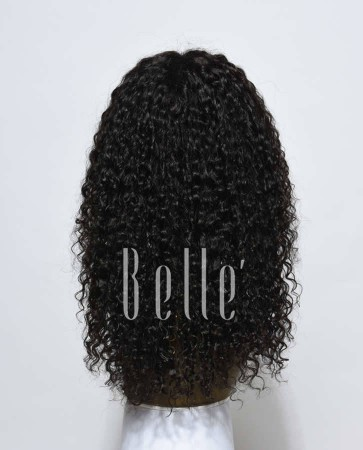 Silk Top Lace Front Wigs 100% Premium Indian Remy Hair 10mm Curl