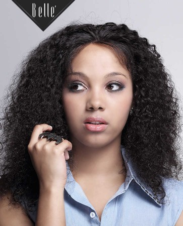 10mm Curl Silk Top Full Lace Wigs 100% Premium Peruvian Virgin Hair