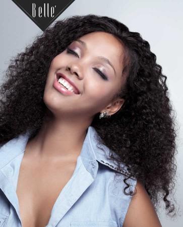 10mm Curl Silk Top Full Lace Wigs 100% Premium Chinese Virgin Hair