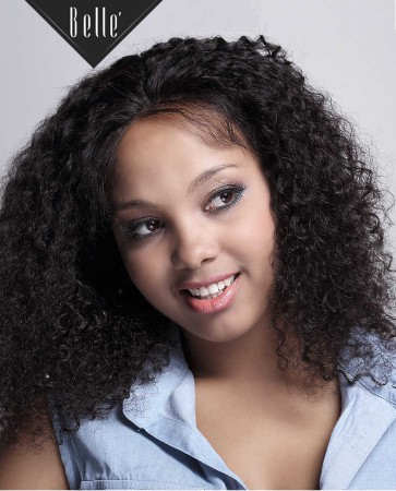 "4""x 4"" Silk Base Full Lace Wigs 100% Premium Malaysian Virgin Hair 10mm Curl"