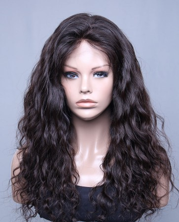 Affordable Lace Front Wig Brazilian Virgin Hair Natural Curl In Stock