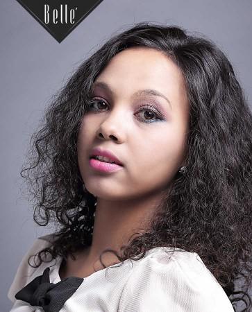 100% Premium Mongolian Virgin Hair Silk Top Full Lace Wig 25mm Curl