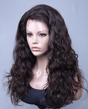 """11.5""""x 3.5"""" Lace Front Wigs with 3 Combs 100% Brazilian Virgin Hair Brazilian Wave"""