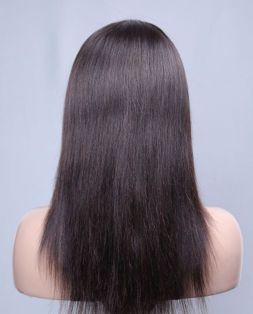 Best Seller Light Yaki 100% Best Brazilian Virgin Hair Lace Front Wig