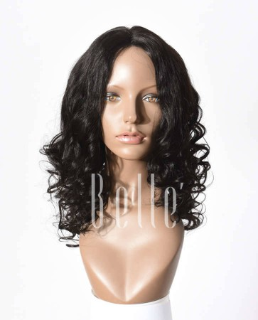 Hot-selling Chinese Virgin Hair Lace Front Wig Beyonce Wave Hairstyle