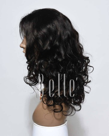 Beyonce Wave Best Malaysian Virgin Hair Silk Top Lace Front Wig