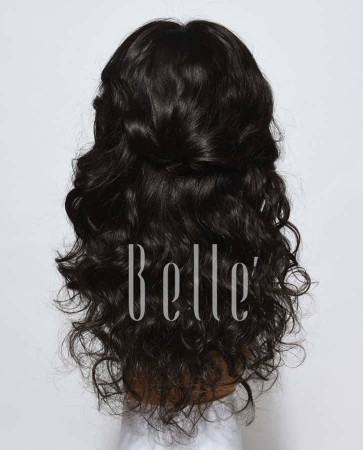 Glueless Full Lace Wigs Indian Remy Hair Beyonce Wave