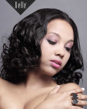 100% Un-processed Healthy Mongolian Virgin Hair Silk Top Full Lace Wig Beyonce Wave