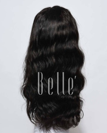 100% Premium Indian Virgin Hair Lace Front Wig Body Wave In Stock