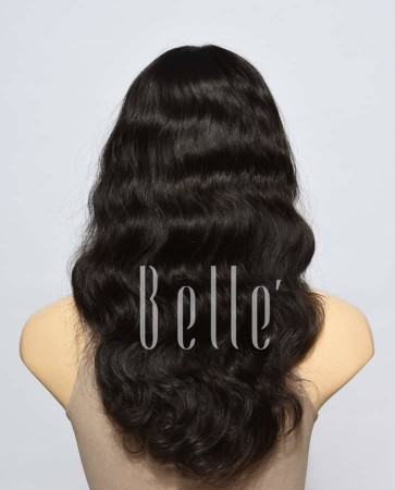 100% Authentic Human Virgin Hair Full Lace Wig Body Wave In Stock