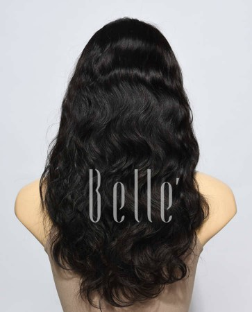 100% Premium Brazilian Virgin Hair Silk Top Lace Front Wig Body Wave In Stock