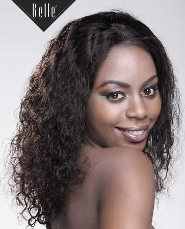 100% Human Hair Mongolian Virgin Hair Silk Top Full Lace Wig Brazilian Curl Hot-selling