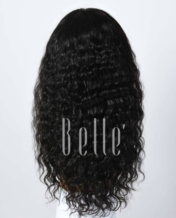 Glueless Full Lace Wigs Indian Remy Hair Brazilian Curl