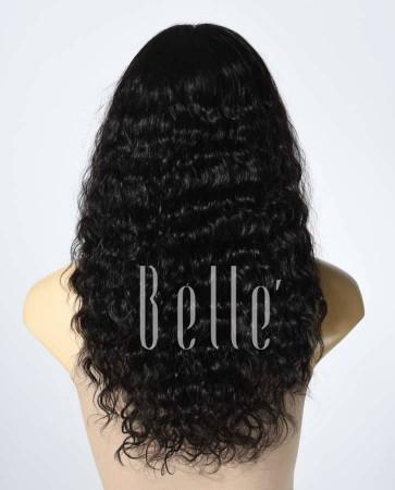 100% Human Hair Brazilian Virgin Hair Silk Top Full Lace Wig Brazilian Curl Best-selling