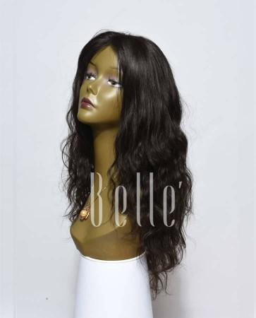 Swiss Lace Front Wigs 100% Premium Indian Virgin Hair Brazilian Wave