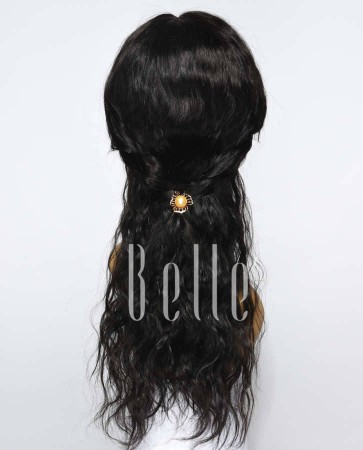 Brazilian Wave Affordable Silk Top Lace Front Wigs 100% Premium Chinese Virgin Hair