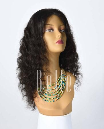100% Best Human Hair Malaysian Virgin Hair Silk Top Full Lace Wig Deep Body Wave