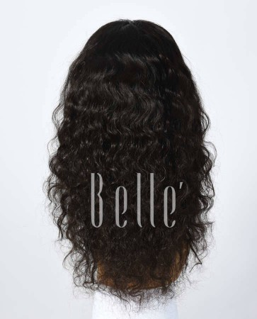 100% Best Human Hair Brazilian Virgin Hair Silk Top Full Lace Wig Deep Body Wave