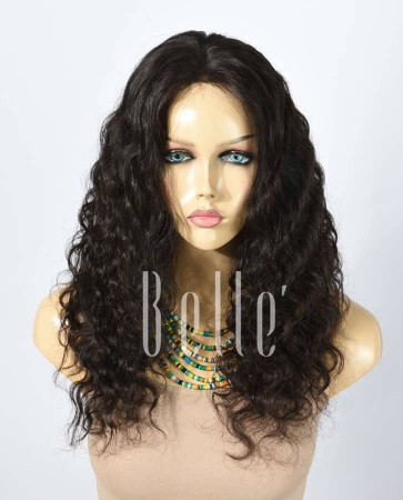 Deep Body Wave 100% Best Human Hair Malaysian Virgin Hair Silk Top Lace Front Wig