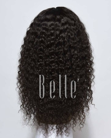 Deep Wave 100% Indian Remy Hair Lace Front Wig Durable