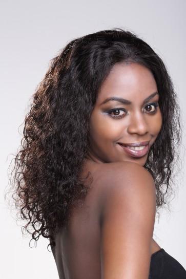 100% Top Quality Brazilian Virgin Hair Full Lace Wig Brazilian Curl Hot-selling