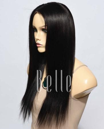 Best Seller Light Yaki 100% Premium Chinese Virgin Hair Lace Front Wig
