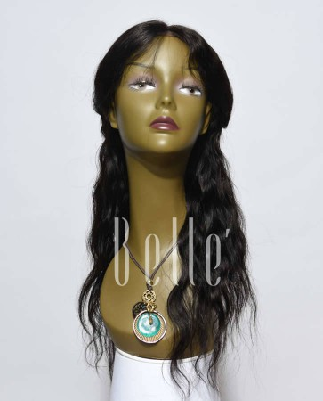 Affordable Lace Front Wig Natural Wave Best Chinese Virgin Hair No Shedding