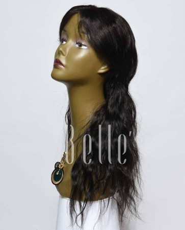 Affordable Lace Front Wig Natural Wave Best Peruvian Virgin Hair No Shedding