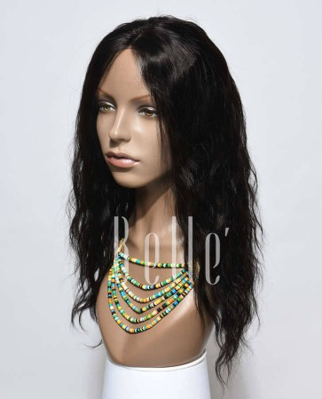 "4""x4"" Silk Top Lace Front Wig Natural Wave Best Malaysian Virgin Hair Free Parting"