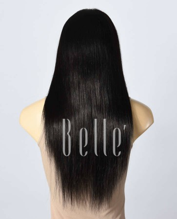 Glueless Full Lace Wigs Indian Remy Hair Straight
