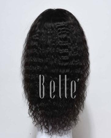 Spanish Wave Brazilian Virgin Hair Silk Top Full Lace Wig Free Parting