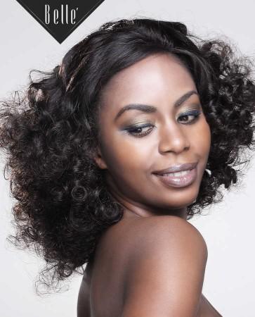 100% Premium Human Hair Indian Remy Hair Silk Top Full Lace Wig Spiral Curl