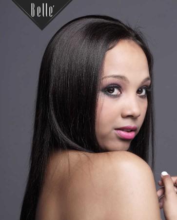 Light Yaki 100% Premium Chinese Virgin Hair Intact Cuticle Silk Top Full Lace Wig