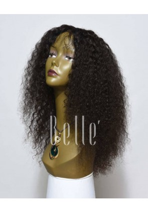 10mm Curl Full Lace Wigs Healthy Malaysian Virgin Hair