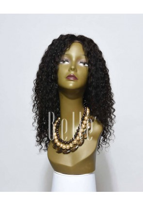 Swiss Lace Front Wigs 100% Premium Chinese Virgin Hair 10mm Curl
