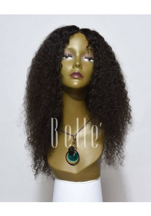 10mm Curl Silk Top Lace Front Wigs 100% Premium Chinese Virgin Hair