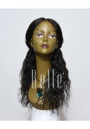 100% Premium Malaysian Virgin Hair Lace Front Wig 25mm Curl Easy Apply