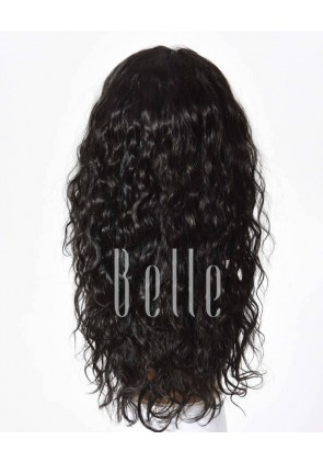 Glueless Full Lace Wigs Indian Remy Hair 25mm Curl