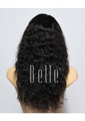 100% Premium Brazilian Virgin Hair Silk Top Full Lace Wig 25mm Curl