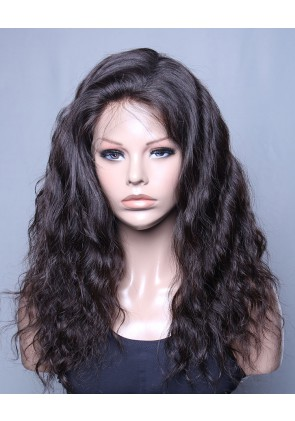 Best Selling Lace Front Wig Natural Wave Best Brazilian Virgin Hair No Shedding