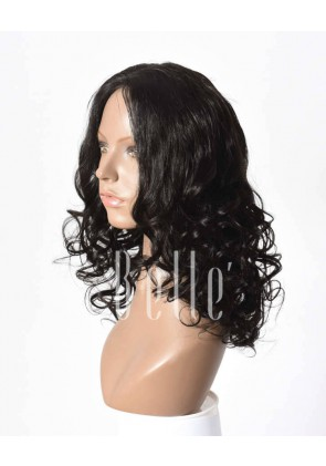 Hot-selling Peruvian Virgin Hair Lace Front Wig Beyonce Wave Hairstyle