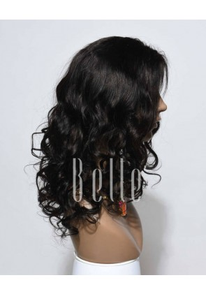 Beyonce Wave Most Popular Chinese Virgin Hair Silk Top Lace Front Wig