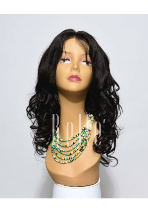 100% Real Human Hair Indian Remy Hair Full Lace Wig Beyonce Wave