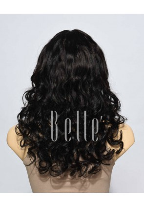 Most Popular Indian Virgin Hair Lace Front Wig Beyonce Wave