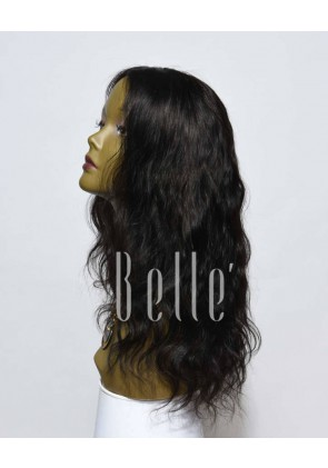 Body Wave 100% Premium Chinese Virgin Hair Silk Top Lace Front Wig In Stock