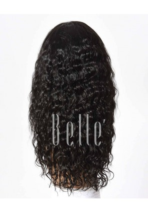 100% Human Hair Indian Remy Hair Lace Front Wig Brazilian Curl Hot-selling