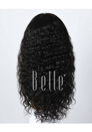 Brazilian Curl 100% Top Quality Malaysian Virgin Hair Full Lace Wig Hot-selling