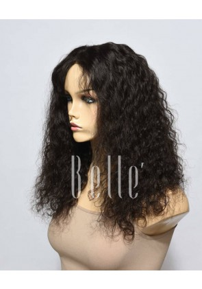 100% Top Quality Peruvian Virgin Hair Full Lace Wig Brazilian Curl Hot-selling