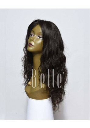 Swiss Lace Front Wigs 100% Premium Indian Virgin Hair Brazilian Wave