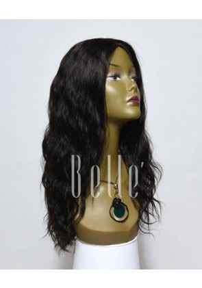 Brazilian Wave Affordable Silk Top Lace Front Wigs 100% Premium Peruvian Virgin Hair